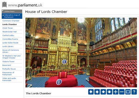 parlamentoingles, house of lords