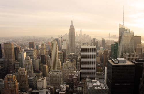 mirador Top of the Rock en Nueva York