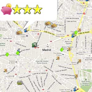 madrid mapa low cost
