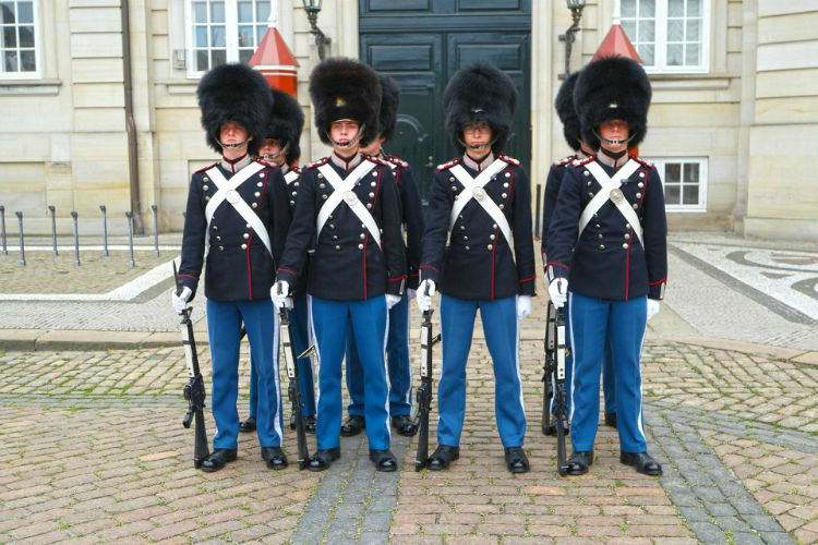 Cambio de Guardia copenhague