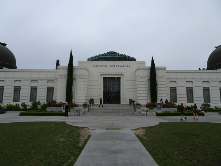 observatorio griffith los angeles mirador