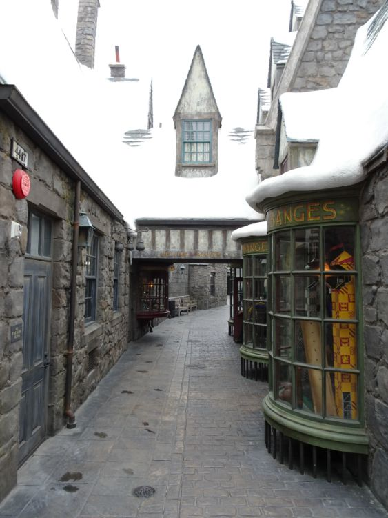 universal studios hollywood harry potter pueblo