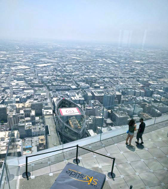 Mirador del edificio U.S. Bank Tower