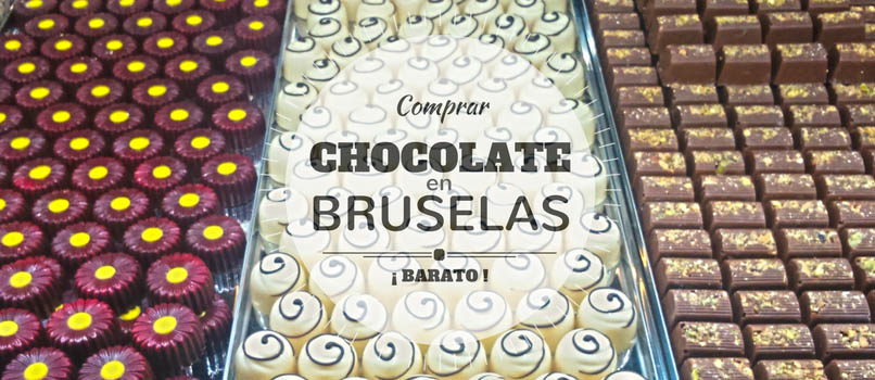 chocolate en bruselas barato