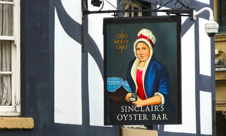 comer en Sinclairs Oyster Bar
