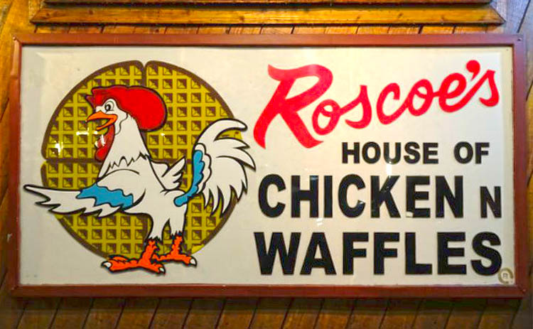 comer en los angeles Roscoes House Of Chicken Waffles restaurante
