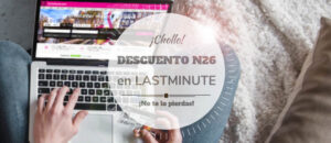 descuento n26 lastminute