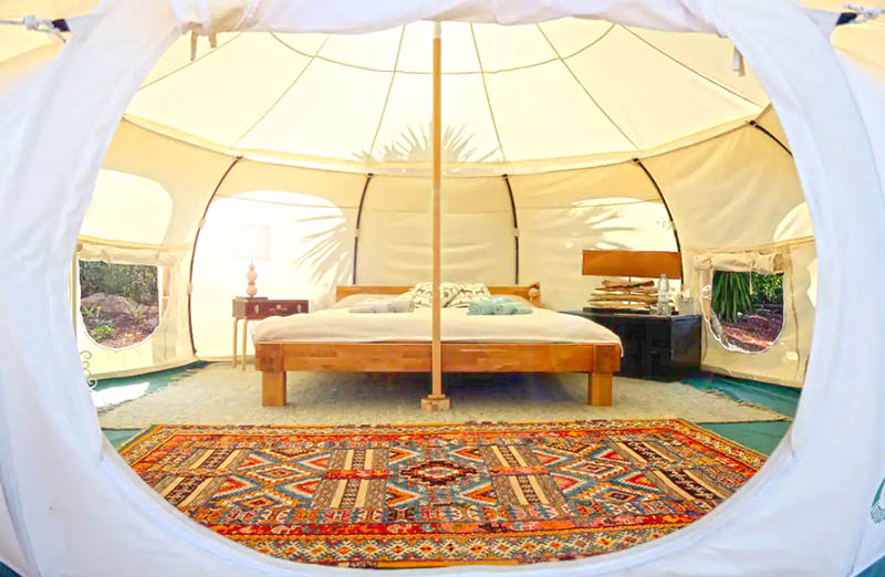 glamping airbnb portugal
