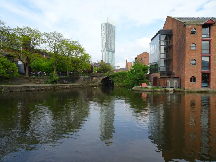 manchester castlefield canal y torre