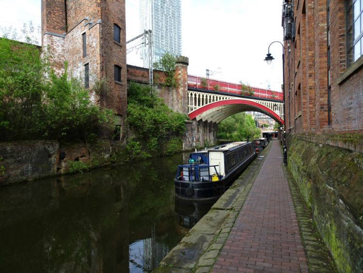 manchester castlefield canales