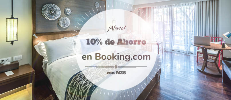 n26 booking descuento