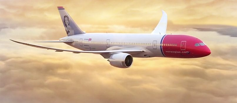 norwegian dreamliner desde barcelona a usa