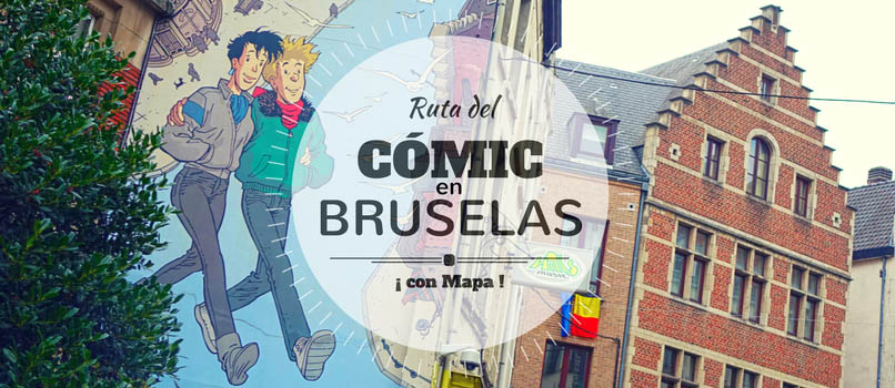 ruta comic en bruselas
