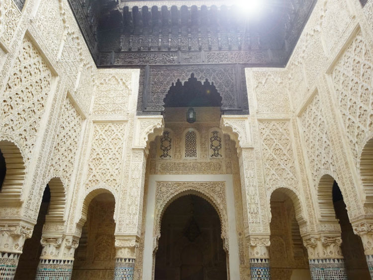 sale madraza patio interior