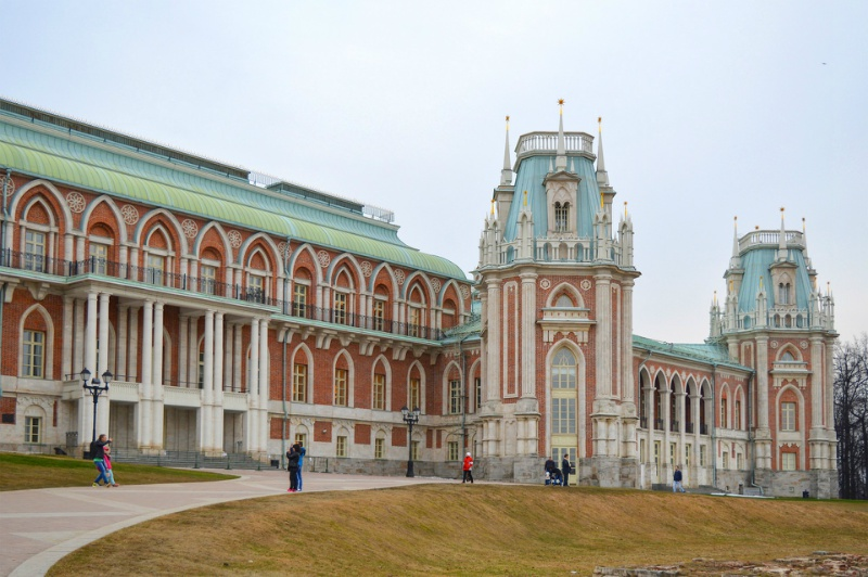 tsaritsyno excursion desde moscu