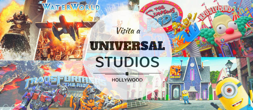 visita a universal studios hollywood